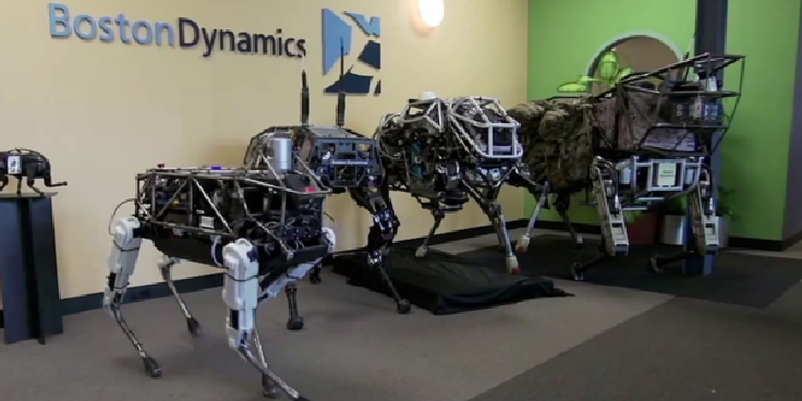 بلومبرگ: گوگل شرکت روبوتیک Boston Dynamics را به ف